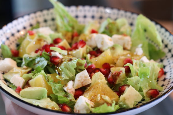Avocado Pomegranate Salad